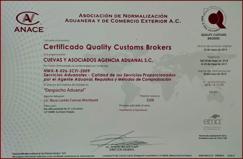 QUALITY CUSTOMS BROKERS